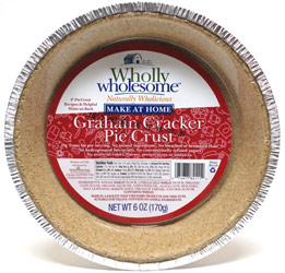 Wholly Wholesome Vegan Graham Cracker Pie Crust