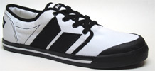 Wallister Sneaker by MacBeth Footwear � White/Black