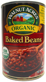 Organic Vegan Baked Beans by Walnut Acres