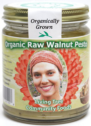 Organic Raw Walnut Pesto by Living Tree Community Foods