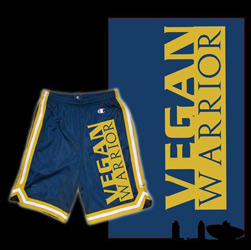 Vegan Warrior Shorts by Motive Co.