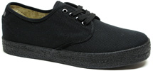 Wayne Canvas Shoe by Draven - Black