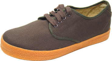Wayne Canvas Shoe by Draven - Brown