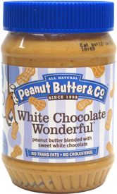 White Chocolate Wonderful Peanut Butter by Peanut Butter &amp; Co.