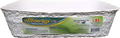 Wonder Box Plus Recycled and Biodegradable Cat Litter Box