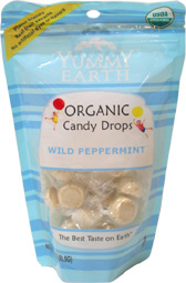 Yummy Earth Organic Wild Peppermint Drops