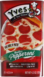 Yves Meatless Pepperoni Slices