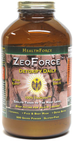 ZeoForce Detoxifying Zeolite Supplement by HealthForce