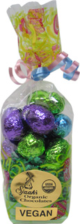 Easter Bag of Organic Chocolate Foil-Wrapped Easter Eggs by Sjaaks
