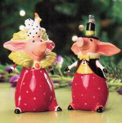 Pierre & Phyllis Pig Salt & Pepper