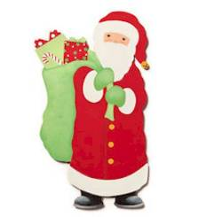 Santa with Bag Magnet