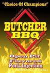 Butcher BBQ Open Pit Flavored Pork Injection 16 OZ