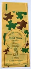 Camo Wild Game Ground Meat Bags