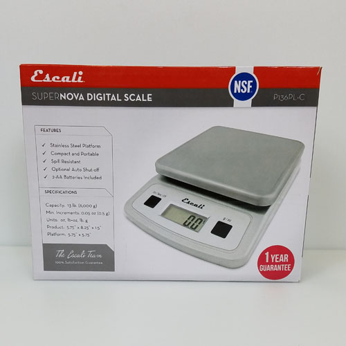 Escali Supernova Kitchen Scale