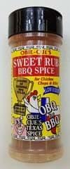 Obie-Cue Sweet Rub BBQ Spice 4.2 OZ Shaker
