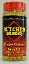 Butcher BBQ Hickory Seasoned Salt 12 OZ Shaker