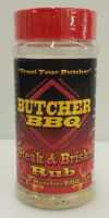 Butcher BBQ Texas Steak & Brisket Rub 12 OZ