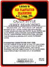 AC Leggs Old Plantation Cajun Jerky Seasoning
