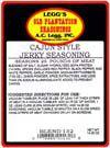 AC Leggs Old Plantation Cajun Jerky Seasoning