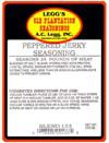 AC Leggs Peppered Jerky Seasoning Blend 133, 13.5 Oz- Case of 24