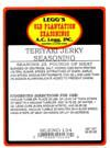 AC Leggs Teriyaki Jerky Seasoning Blend 134, 20.25 Oz- Case of 24